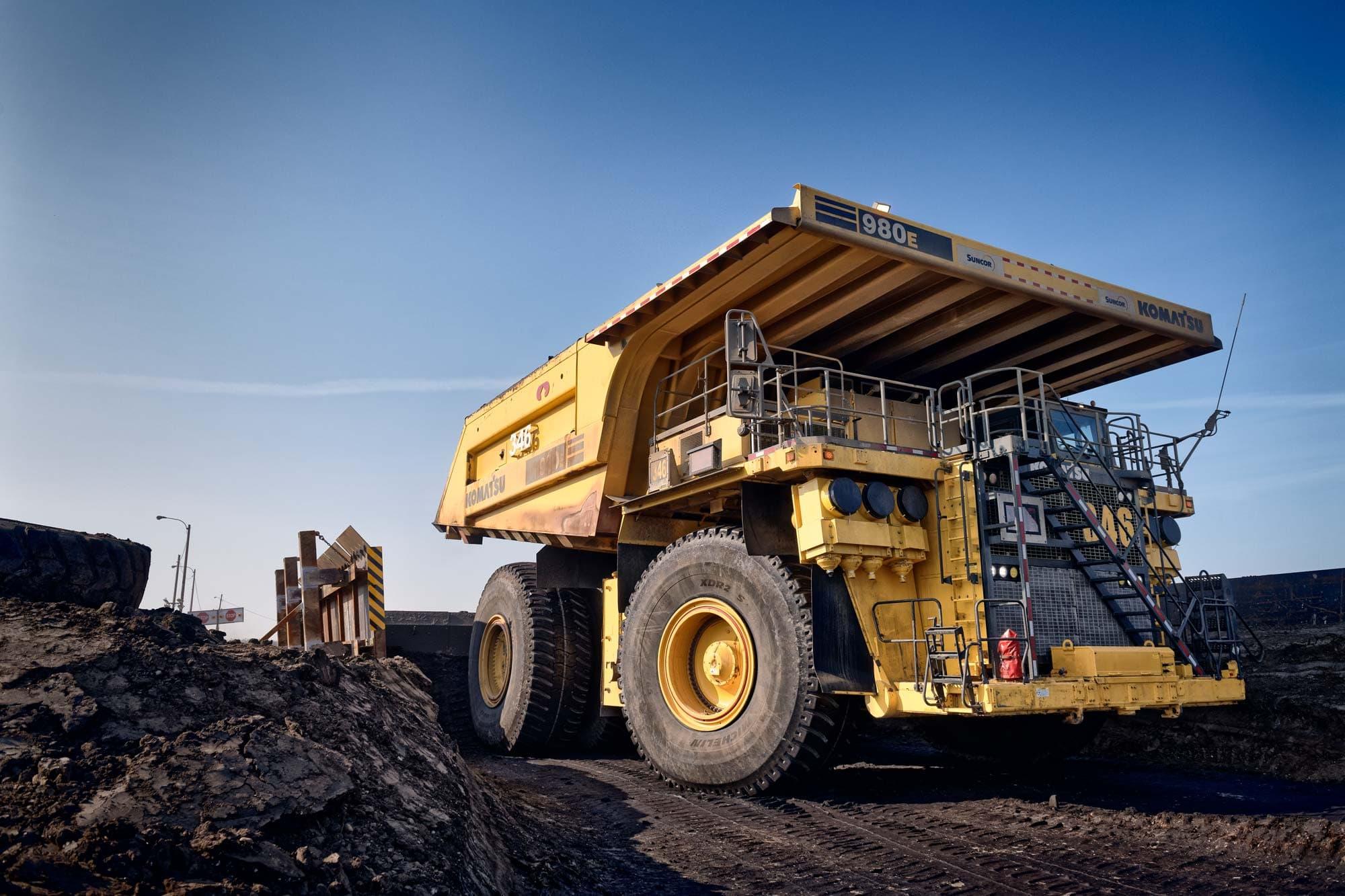 Camion à la mine Millenium