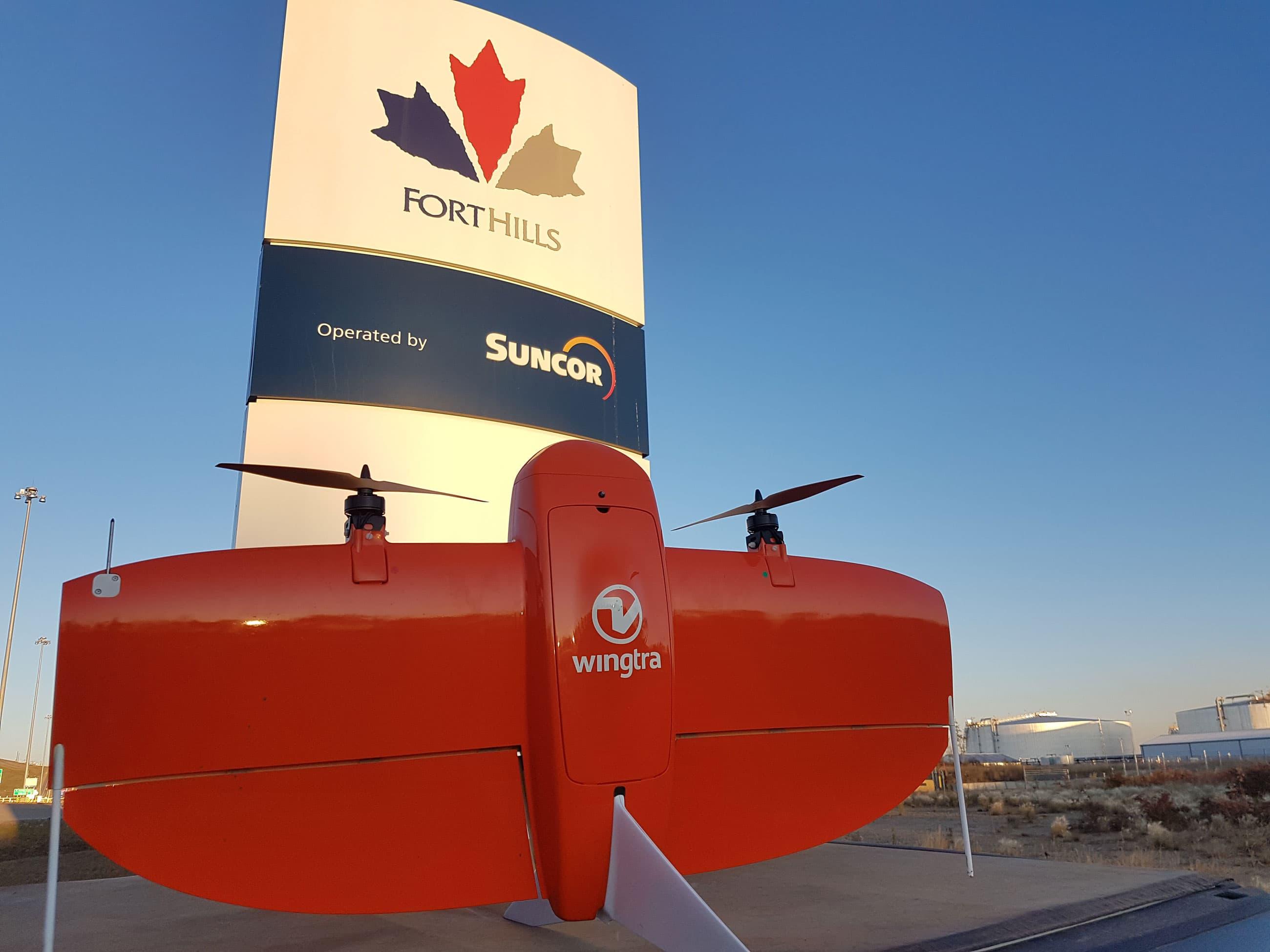 Projet portant sur la technologie de drone pour l'aire d'élimination hors fosse Està Fort Hills