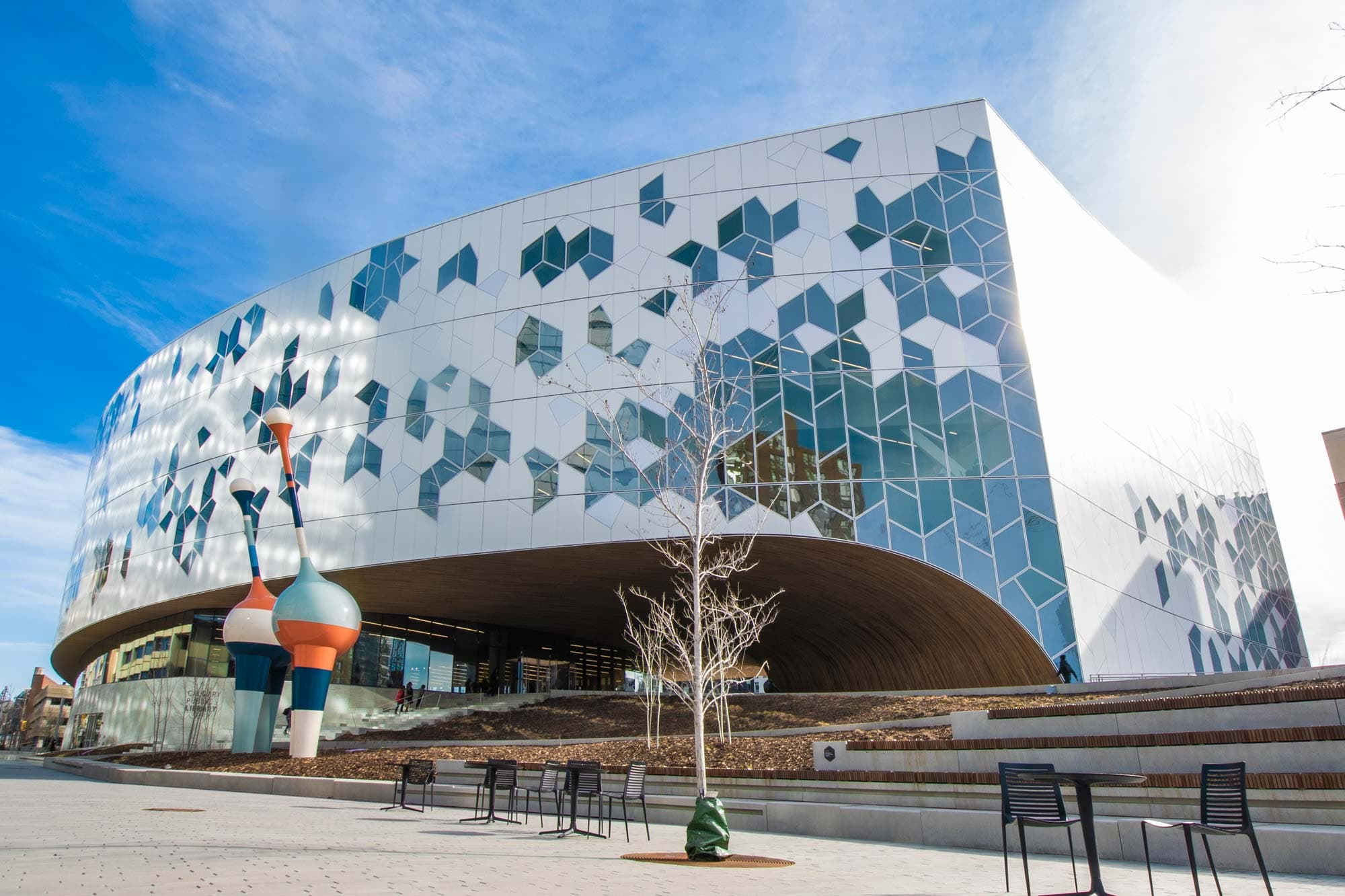 Calgary's new central public library