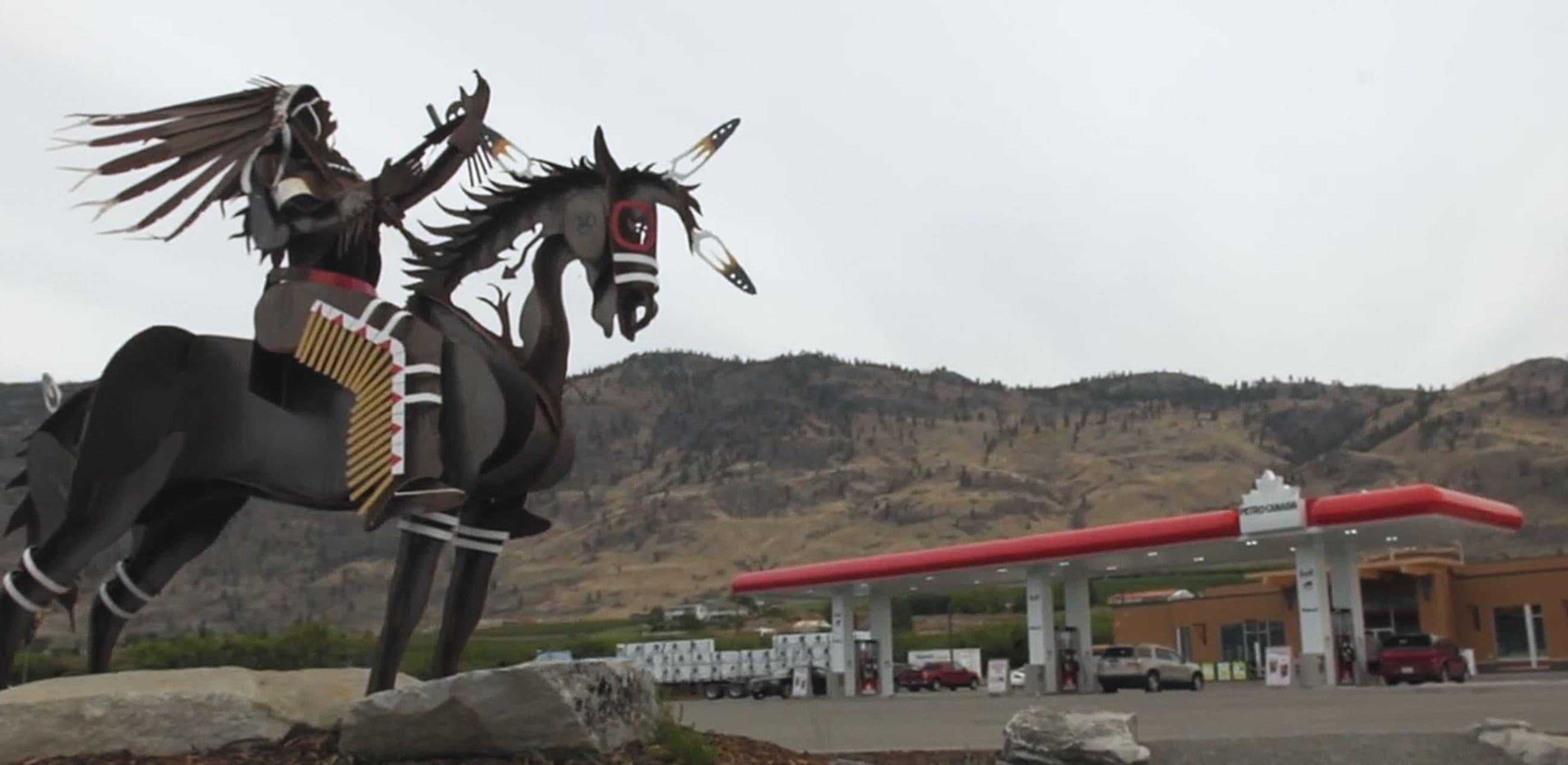 Établissement Petro-Canada appartenant à la Première Nation NK'MIP et exploité par celle-ci