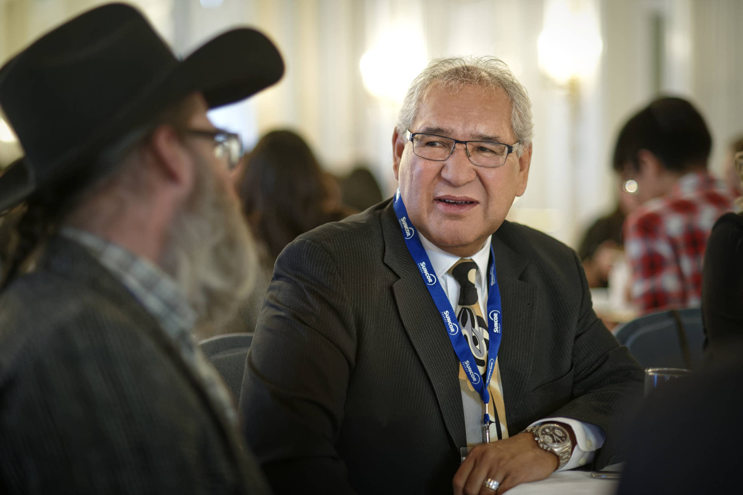 An attendee at the Indspire event in Calgary