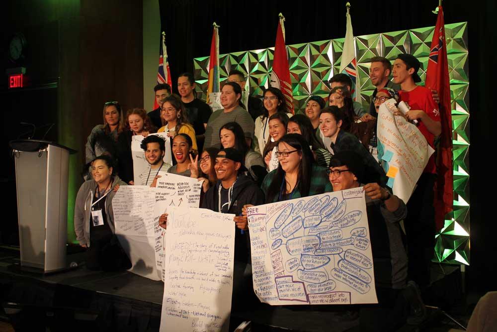 Group photo of participants at SevenGen's Innovation Jam.