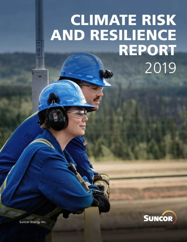 Suncor's 2019 Climate Risk and Resilience Report