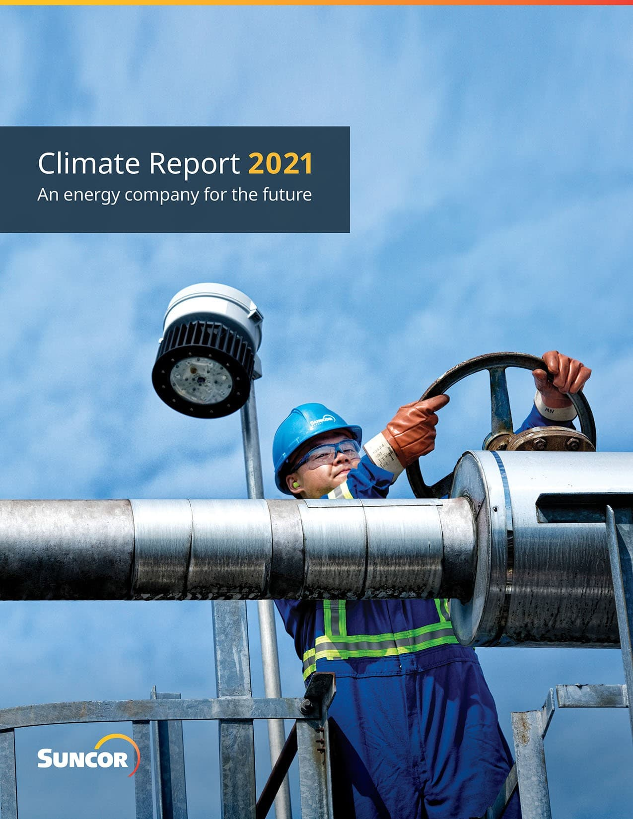 2021 Climate Report cover page