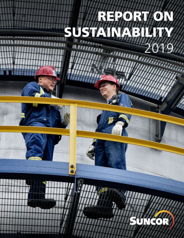 Suncor's 2019 Report on Sustainability