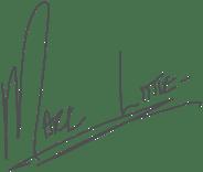 La signature de Mark Little