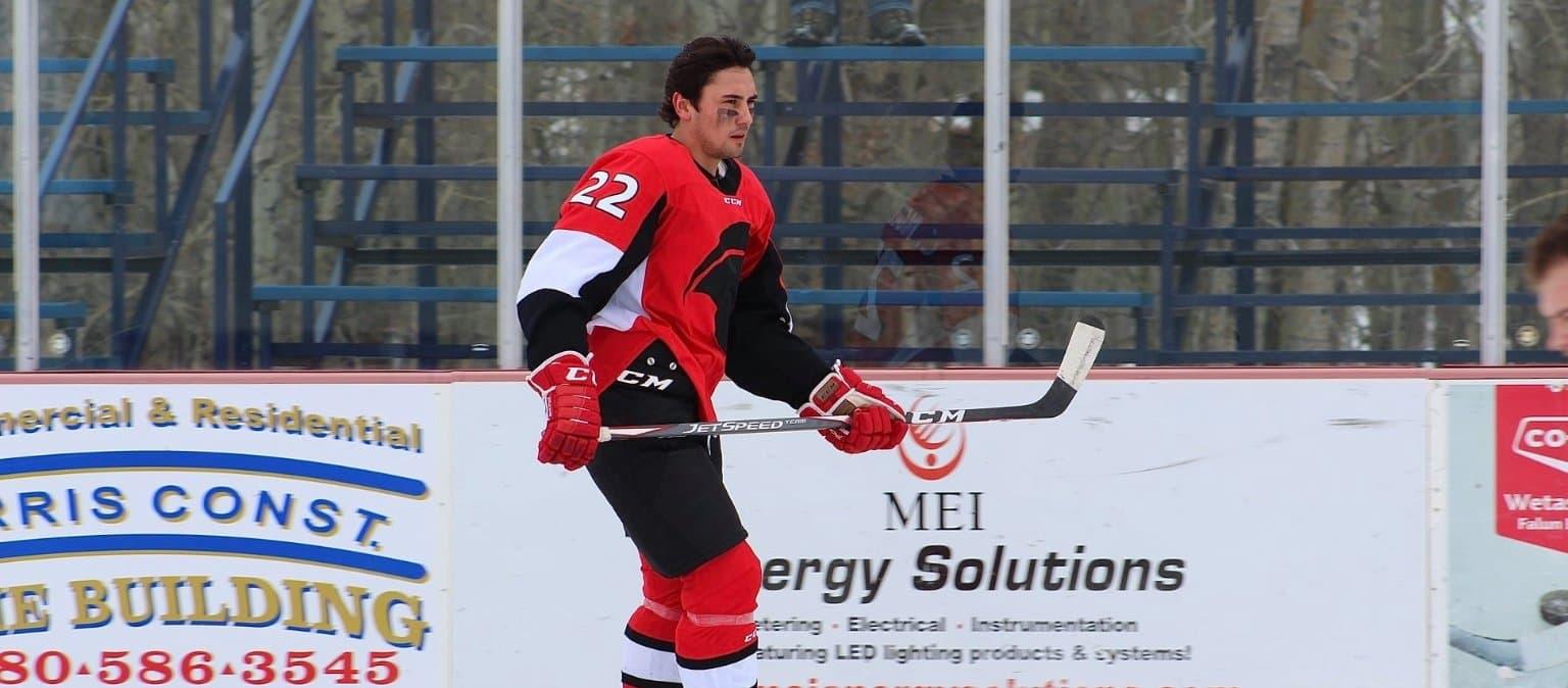 Connor McCallum skating