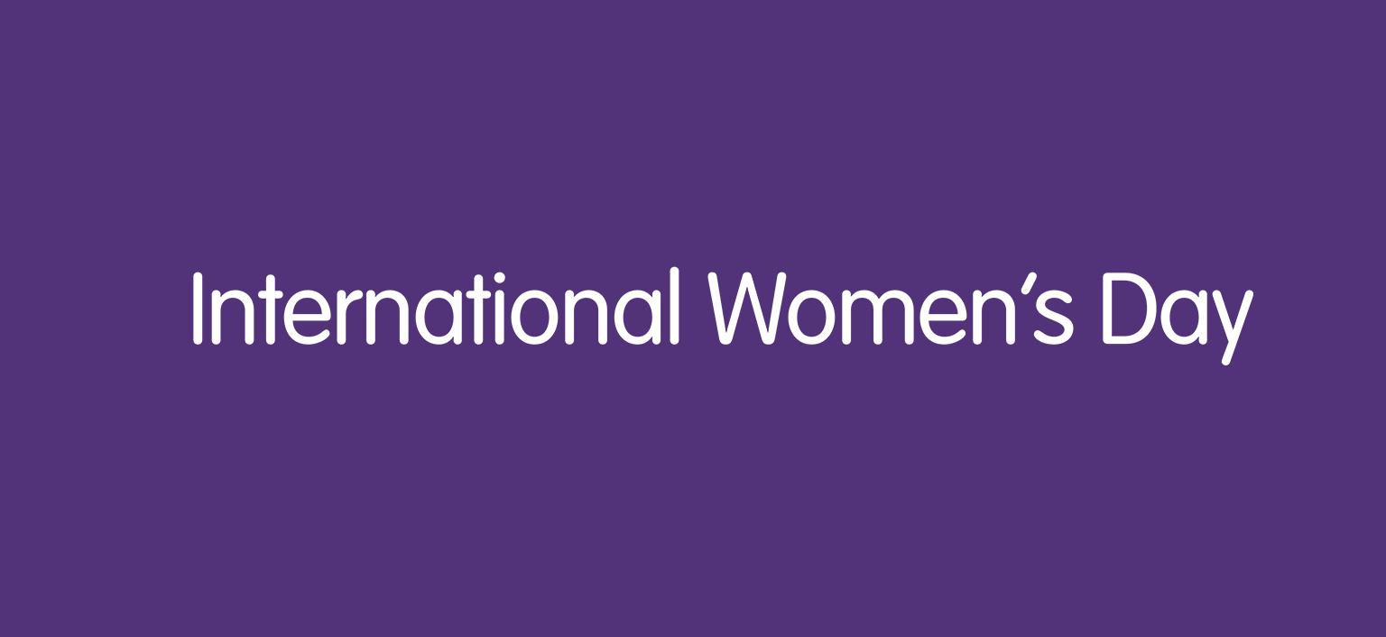 International Women's Day Banner Image
