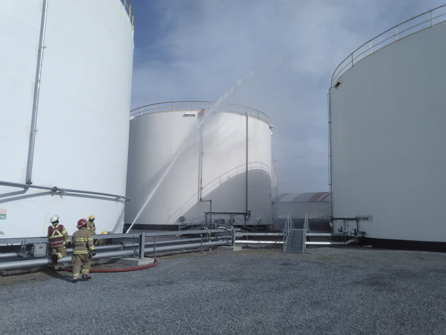 Suncor is working with key Rimouski stakeholders to further mitigate risks associated with terminal activities.