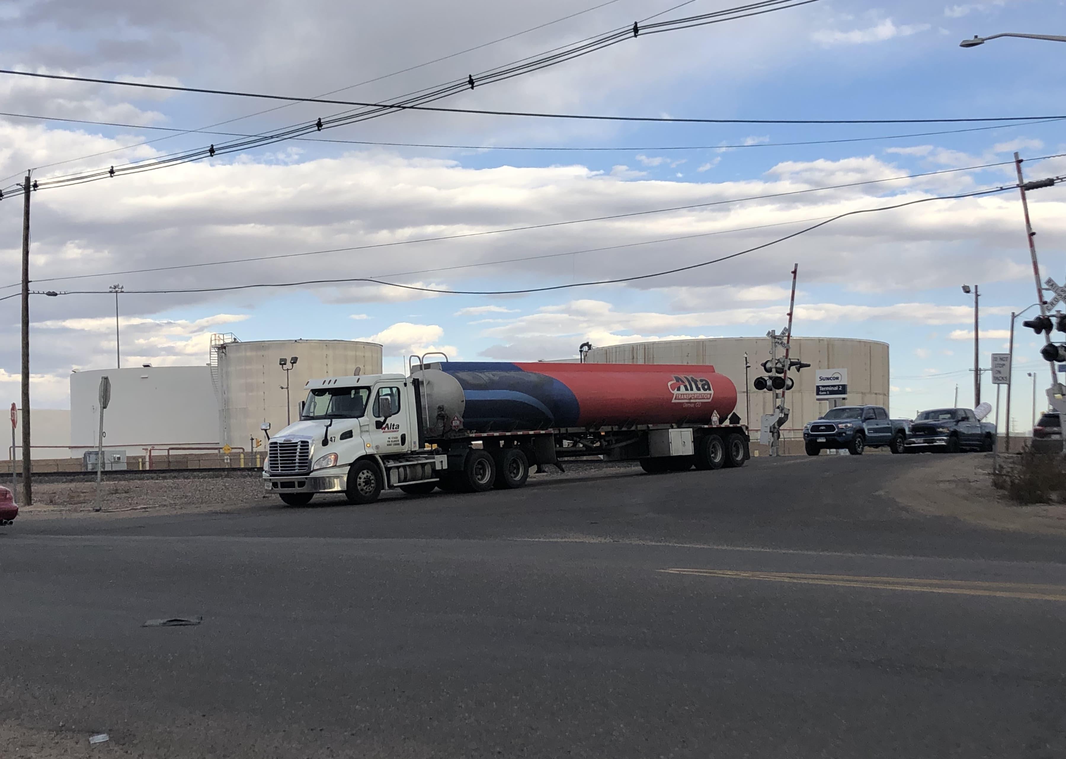 Camion de carburant Commerce City