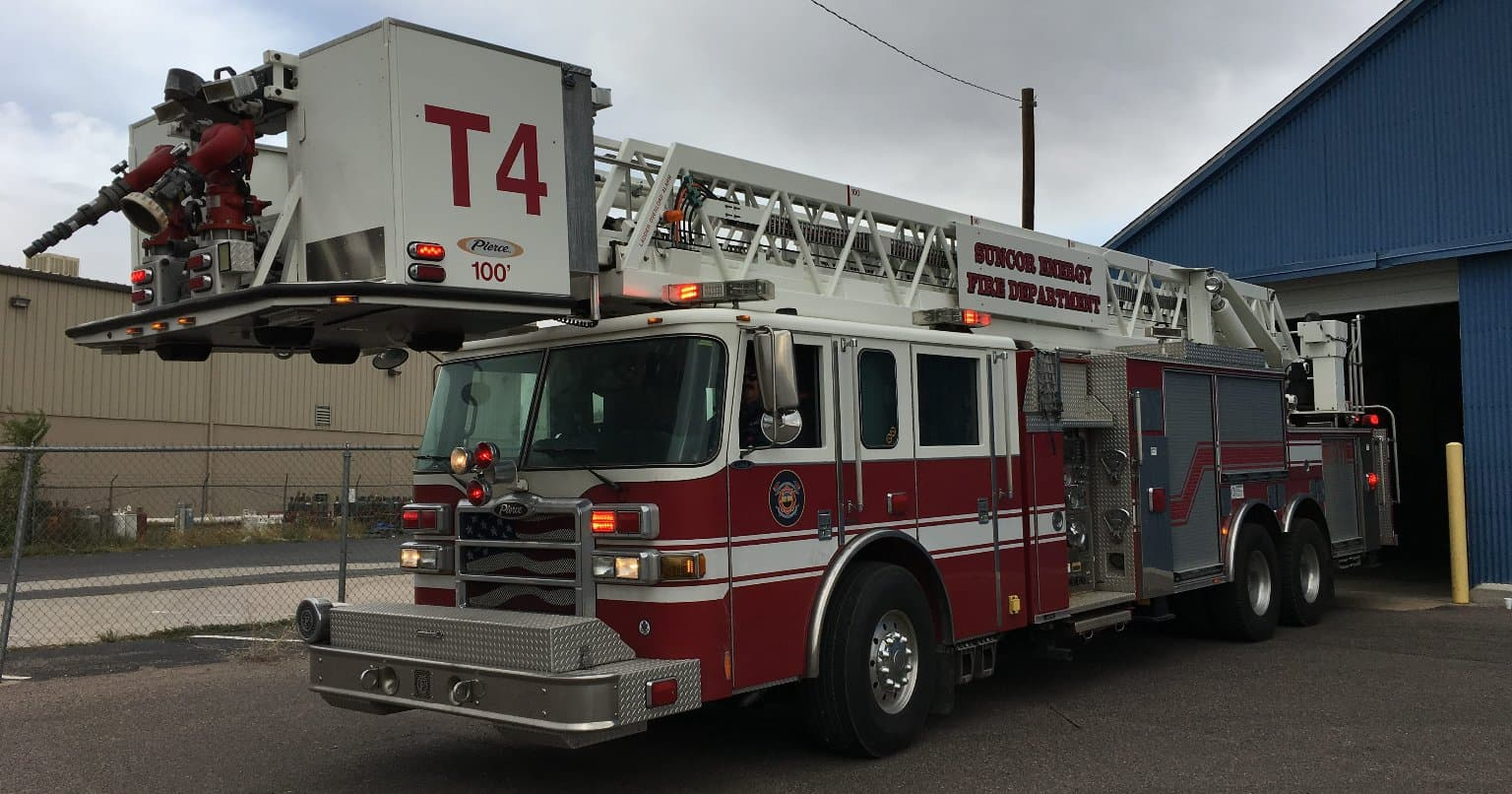 The recent addition of a 100-foot Pierce Platform fire truck will enhance the capabilities of our in-house fire and rescue teams.