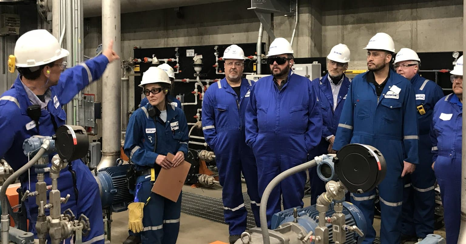 Commerce City refinery hosted Adams County and Commerce City government leaders for a tour of our facility