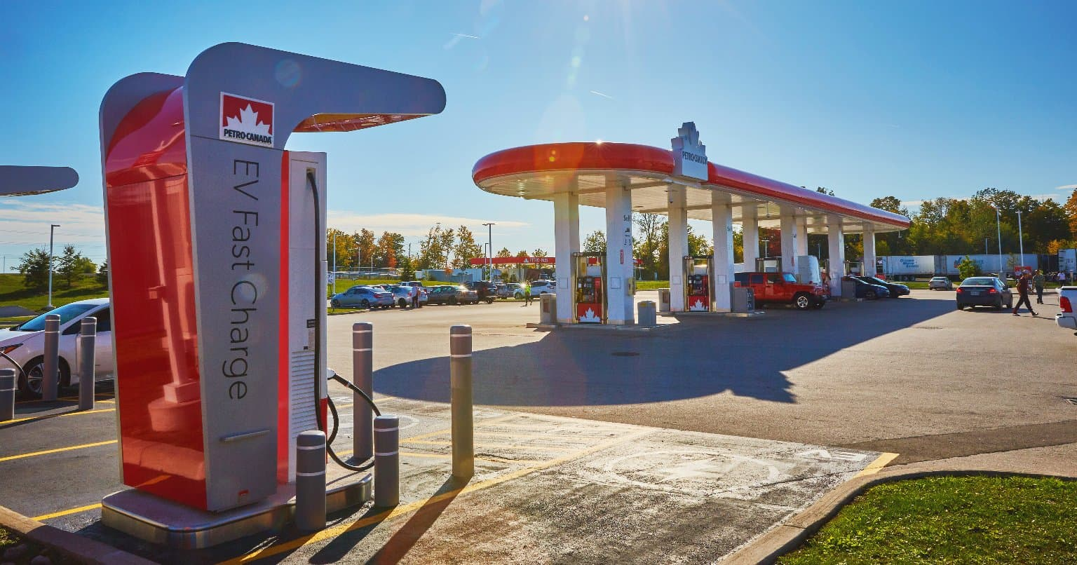Petro-Canada EV fast charger.